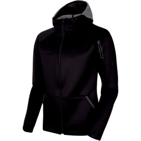 Mammut Logo ML Hooded Jacket Herren black melange